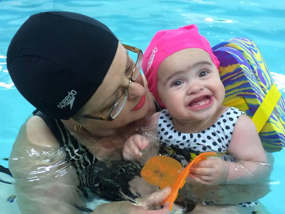 Baby & pre-schooler swimming lessons
