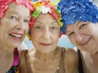 Mellow Mondays at Canterbury Swim School, for the over 60s